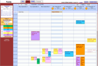 Online calendar as Family calendar